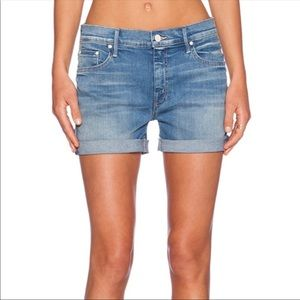 Mother Denim High Rise Shorts Size 27 Women's